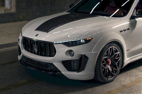 Maserati'nin Yeni Modifiyeli Suv'u