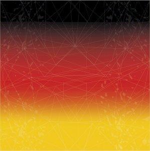 Almanya Bayrak Baskılı Bandana