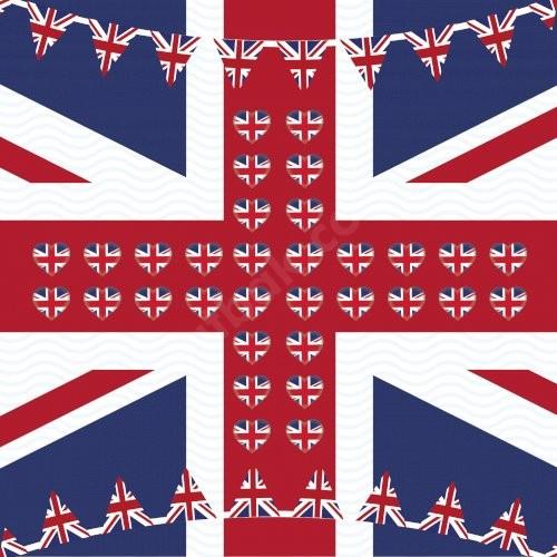 UK Bayrak Baskılı Bandana