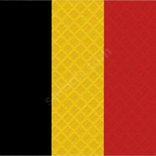 Belçika Bayrak Baskılı Bandana