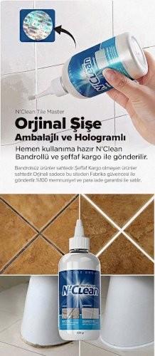 N'Clean Tile Master Silikonlu Derz Dolgusu ( 4 Alana 1 Hediye Paketi )